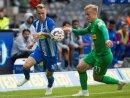 Duda (l.) trifft - Sieg für Hertha BSC
