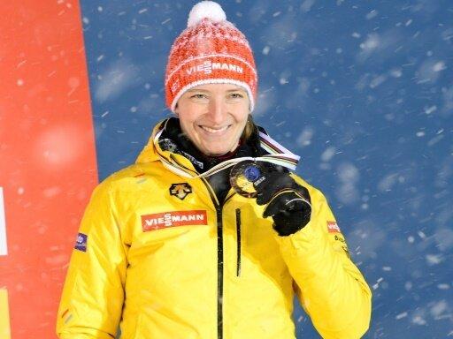 Tatjana Hüfner hängt mindestens noch ein Jahr dran