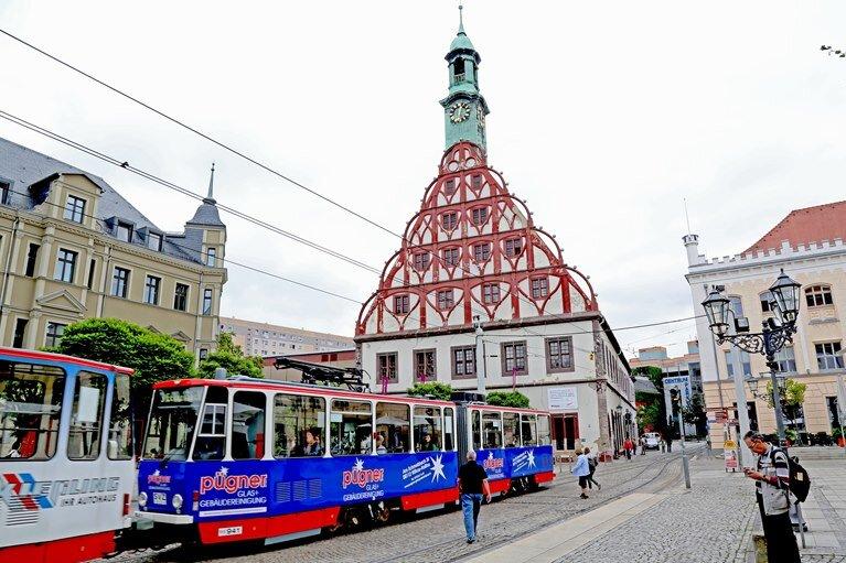 Gewandhaussanierung in Zwickau startet im Dezember
