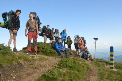 Die Expedition setzt sich aus Vereinsmitgliedern im Alter zwischen 12 und 18 Jahren zusammen.