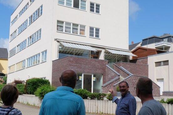 Bauhaus-Architektur im Blick