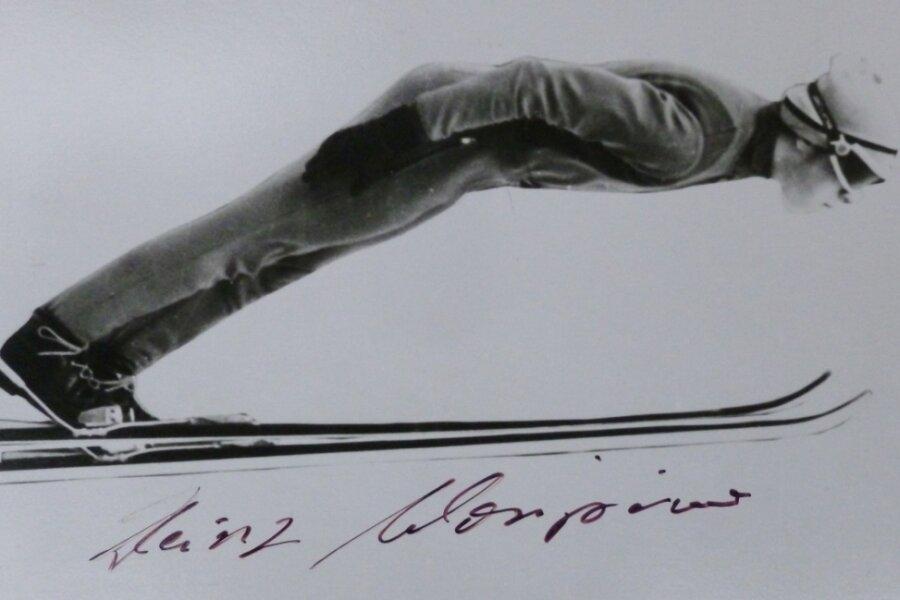 Mit Seilzugbindung und Mütze ging Heinz Wosipiwo einst auf Weitenjagd.
