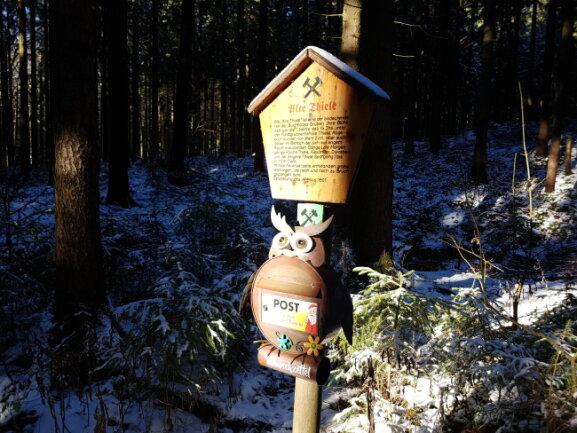 In Buchholz kann die Post an der Alten Thiele eigeworfen werden.