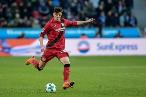 Bayer Leverkusen gewann dank Kai Havertz