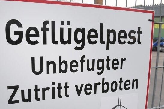 Die Geflügelseuche ist nur noch etwa 50 Kilometer Luftlinie vom Vogtlandkreis entfernt.