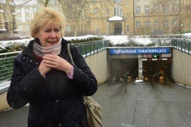 Bisher nutzte Edda Ruschinsky eine Monatskarte in der Tiefgarage am Theaterplatz. Das gibt es seit dem Jahreswechsel nicht mehr.