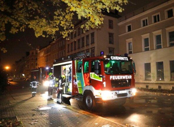 Eine Person wurde bei dem Brand in dem Haus an der Sonnenstraße verletzt.