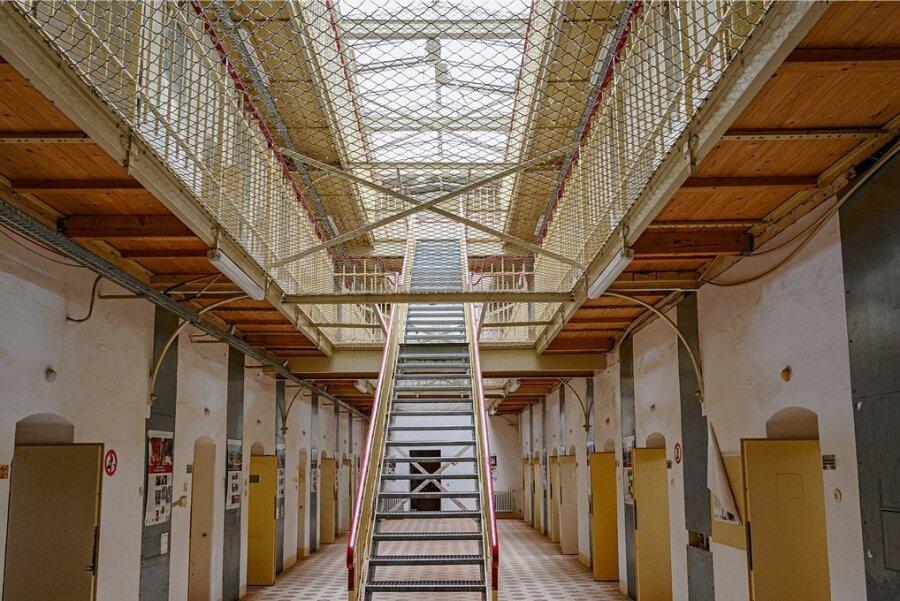 Das Kaßberg-Gefängnis in Chemnitz