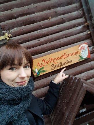 Unsere Kollegin Denise Märkisch hat den Briefkasten in Ehrenfriedersdorf gesucht.