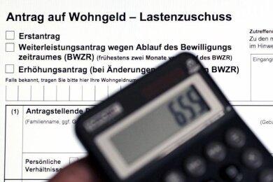 Deutlich mehr Freiberger haben in den ersten sechs Monaten dieses Jahres Wohngeld beantragt.