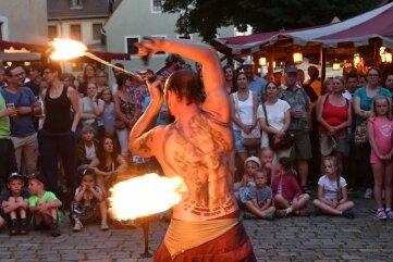 Schausteller sollen während des Bergstadtsommers auf dem Untermarkt Halt machen.