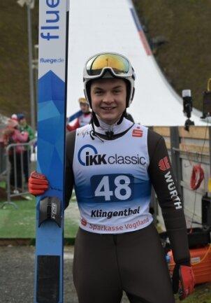 Tim Kopp hat sich in Seefeld für den Continentalcup daheim in Klingenthal empfohlen.