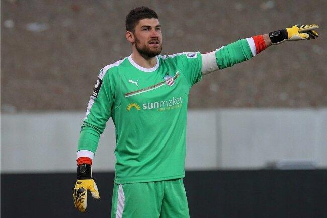 FSV-Stammtorhüter Johannes Brinkies musste am Mittwoch in Saarbrücken in der Schlussphase ausgewechselt werden.