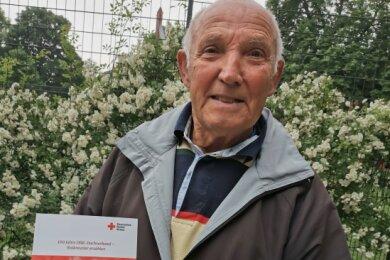 Heinz Langer - DRK-Mitglied