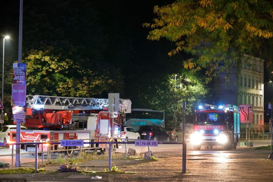 Chemnitz: Feuer in Wohnung am Rosenhof