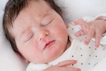 Victoria Neukirch ist das 200. Baby im Jahr 2021 im Auer Helios Klinikum.