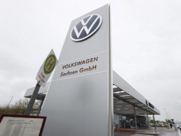 Die Volkswagen Sachsen GmbH - hier der Standort in Zwickau.