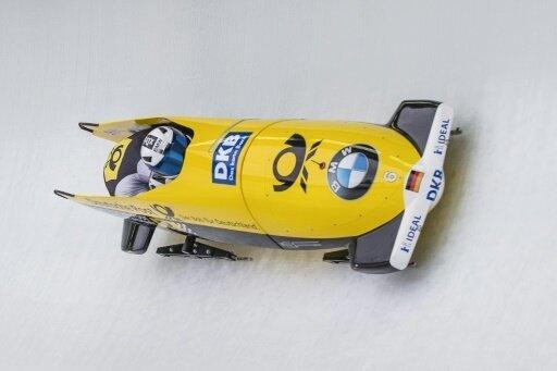 Friedrich und Grothkopp gewannen das Zweierbob-Rennen