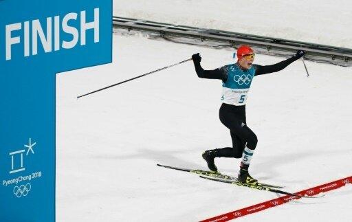 Eric Frenzel springt zur Goldmedaille im Einzel