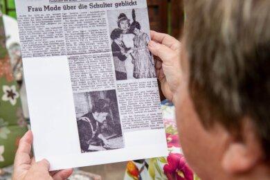 """Bereits 1962 hatte die Presse über die damals """"junge Meisterin Gisela"""" und über die PGH """"Elegant"""" berichtet."""