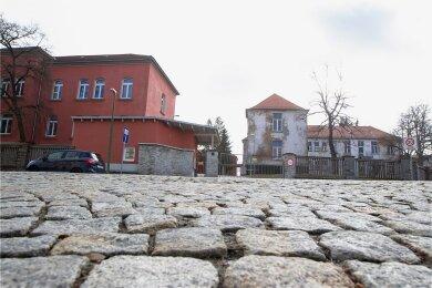 Die Asylunterkunft des Vogtlandkreises in Plauen an der Kasernenstraße: Zuletzt wurde dort mehrmals gezündelt.