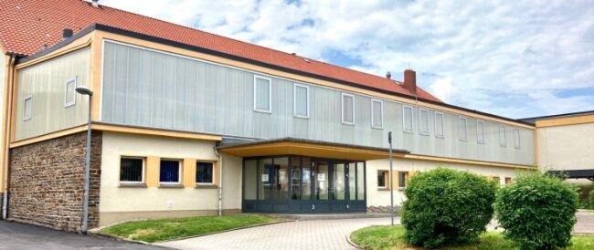 Die Sporthalle der Grund- und Oberschule Aue-Zelle.