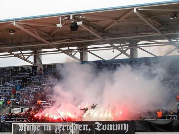 Die Fans des Chemnitzer FC stehen unter besonderer Beobachtung.