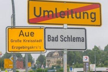 Bürgerinitiative will Fusion von Aue und Bad Schlema per Eilantrag stoppen
