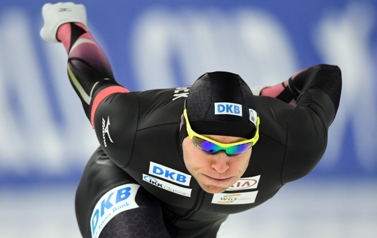 ClaudiaPechstein Claudia Pechstein - Nico Ihle ist stark in Form und für die WM gerüstet.