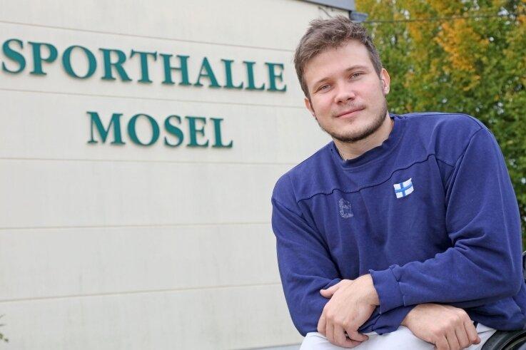 Die Sporthalle Mosel ist für Teemu Partanen die neue sportliche Heimstätte. Mit Blick aufs erste Punktspiel in Mosel am 31. Oktober gegen Hannover II wird bei RB Zwickau teilweise zweimal täglich trainiert.