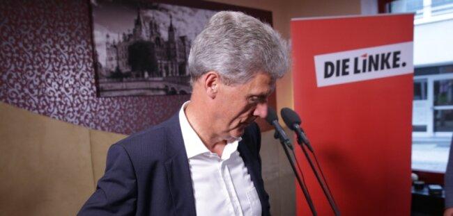 Kann sich eine Koalition mit der SPD vorstellen: der unterlegene Spitzenkandidat der Linken im Nordosten, Helmut Holter.