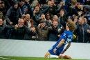 Die Chelsea-Fans fielen beim 2:0-Sieg negativ auf