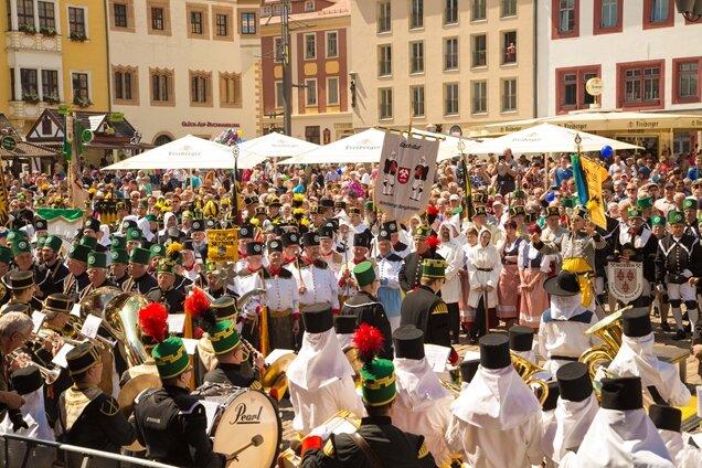 Stadt zieht Bilanz: 100.000 Gäste beim Bergstadtfest in Freiberg