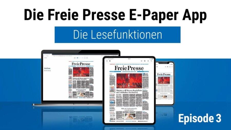 """Episode 3 - Lesefunktionen in der App """"FP E-Paper"""""""