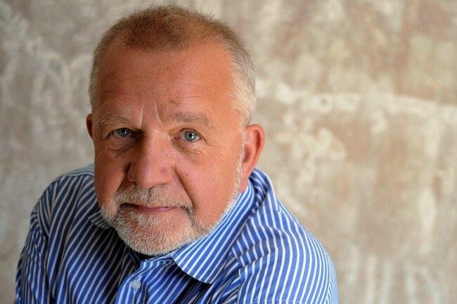"""Rüdiger Safranski moderierte bis 2012 mit Peter Sloterdijk das """"Philosophische Quartett""""."""