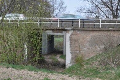 Die B 173 führt zwischen Freiberg und Oberschöna über zwei Brücken, die mehr als 80 Jahre alt sind. Beide sollen neu gebaut werden.