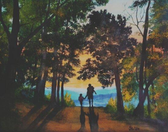Dieses Motiv ist am Lac d'Annecy in Frankreich entstanden.
