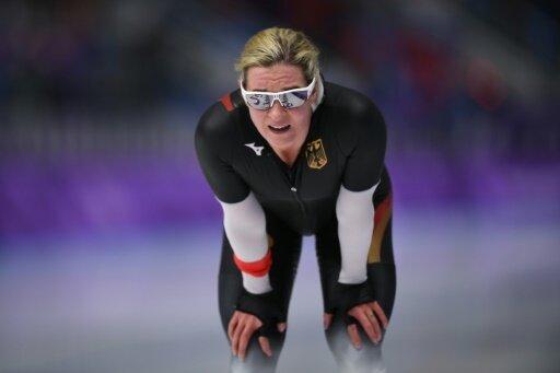 Auf Platz zwölf: Claudia Pechstein über 3000 m