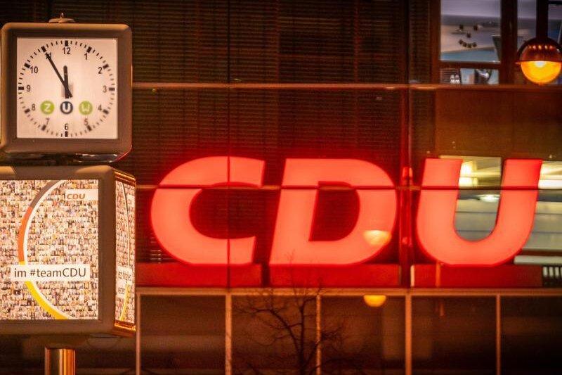 Das Konrad-Adenauer-Haus, Bundeszentrale der CDU, in Berlin.