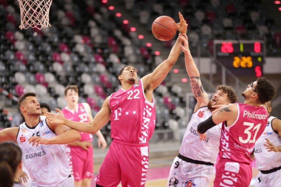 Basketball-Liveticker: Niners gehen am Rhein unter