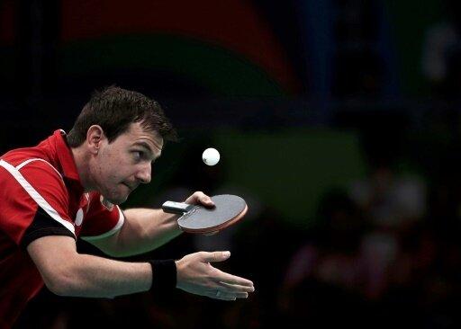 Scheitert an Weltmeister Ma Long: Timo Boll