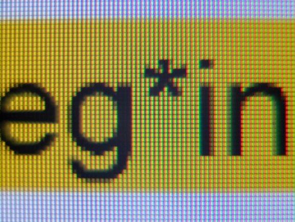 """Das sogenannte Gender-Sternchen in der Anrede """"Kolleg*innen"""" auf einem Bildschirm."""
