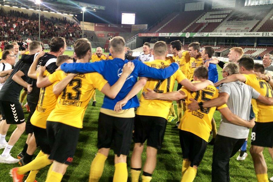 VfB Auerbach gewinnt gegen FC Energie Cottbus