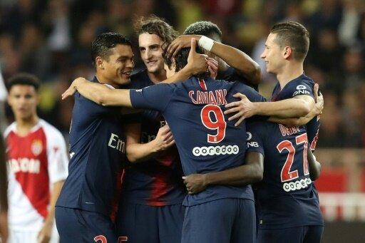 Paris feiert seinen Auswärtssieg in Monaco