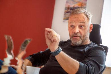 Dirk Neubauer, geboren 1971, ist seit Oktober 2013 Bürgermeister der Stadt Augustusburg.