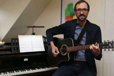 Carsten Hauptmann aus Frankenberg ist neuer Referent für Jugend- und Popularmusik im Landesjugendpfarramt.