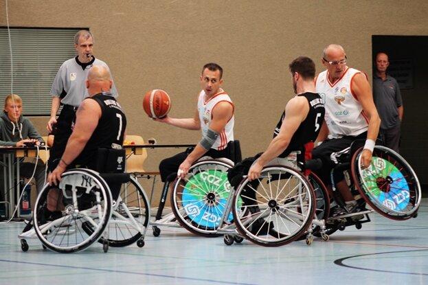 Heimsieg für Zwickauer Rollstuhlbasketballer