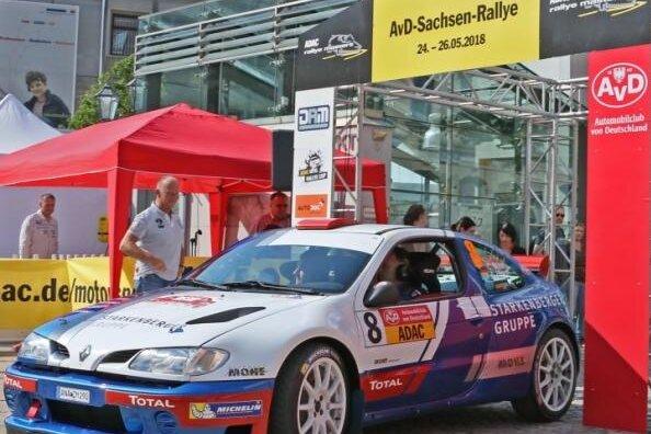 Sachsen-Rallye mit starkem Starterfeld