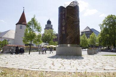 Das Wendedenkmal in Plauen.