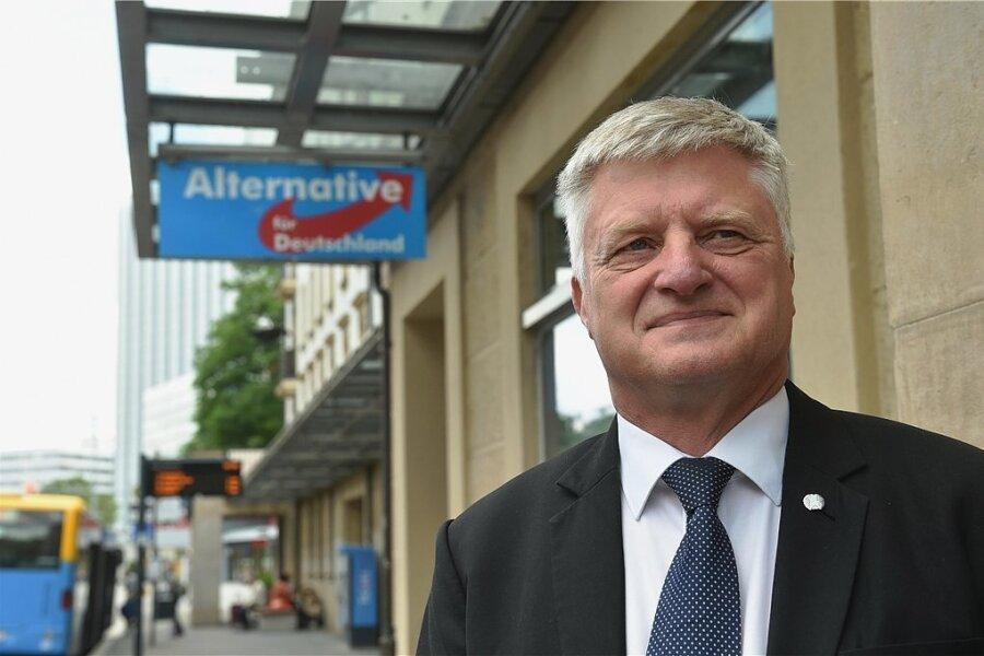 Ulrich Oehme tritt bei den Oberbürgermeisterwahlen in Chemnitz für die AfD an.